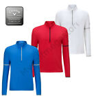 Callaway Golf Men's LS 1/4 Zip Mock Midlayer m/l/xl/xxl base / mid layer