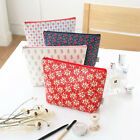 ICONIC Pattern Pouch L - Zipper Cosmetic Case Makeup Bag Travel Organizer -DSKC
