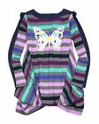 Deux par Deux Girls' Striped Jersey Tunic L'Effet Papillon, Sizes 7-12