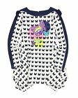 Deux par Deux Girls' Butterfly Print Jersey Tunic L'Effet Papillon, Sizes 7-12
