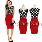 SUMMER Vintage Style 1950s Wear to Work Wiggle Pinup Pencil Wiggle Skirt Dress