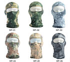 Snake Camouflage Ski Balaclava Cycling Motorcycle Tactical  Full Face Mask US