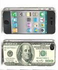 100$ Bill Iphone Case (Fits Iphone 4/4s, 5c, 5/5s) Art Fashion