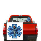 Erazor Bits Reflective Decal Emergency Medical Services - Silver Snake Emt 2