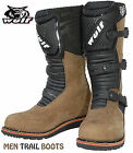 WULFSPORT TRIALS BOOTS OFF ROAD TRAIL BOOTS BROWN