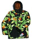 NEW The North Face Men's Trotwood Insulated Jacket -Black Tropical Hawaiian $249
