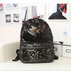 Stylish New Casual Sequins Backpack Women Ladies Girls Leisure School Bags FOUK