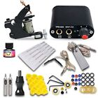 Complete Tattoo Kit needles Machine Guns Power Supply USA Color Ink MGT-18WED-10
