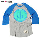 Pink Dolphin Graphic T-Shirt Size XL #Style 823