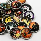 5, 8, 15 Halloween Chunk Snap Buttons Charms Fits Noosa or Ginger Snaps