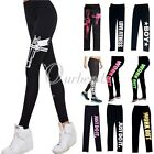 Hot Women's Skinny Stretch Trousers Fitness Sport Running Pants Leggings OBSLE40