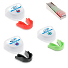 10 x GAME GUARD Adult Junior Mouth Guard FLAVOURED,Gum shield, Boxing, Rugby MMA