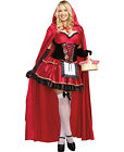 Plus Size Little Red Riding Hood Halloween Costume - Dreamgirl 9477X