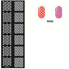 Easy Use Stamping Nail Art Template Stickers Stamp Stencil Guide Beauty Tips