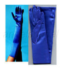"23"" LONG STRETCH SATIN BRIDAL WEDDING HALLOWEEN COSTUME PROM DRESS OPERA GLOVES <br/> HIGHEST QUALITY GLOVES! BEWARE OF CHEAP IMITATIONS!"