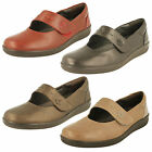 Padders Ladies Leather Wide Fit Shoes Style - Neptune