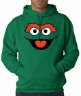 Oscar Face Sesame Street 50/50 Pullover Hoodie