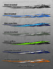 RACE CAR TRUCK TRAILER BOAT GRAPHIC WRAP EG2 - 4 SIZES MANY COLORS AVAILABLE