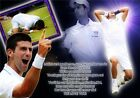 "Novak Djokovic - Champion NO 1 Top Tennis Player Sports 34""x24"" Poster N020"