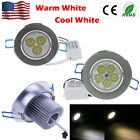 Hot 9W 12W 15W 21W 27W Dimmable LED Down Light Recessed Ceiling Downlights Lamp