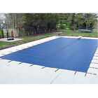 Rectangle Mesh In-Ground Pool Safety Cover