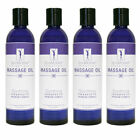 SpaMaster Essentials Aromatherapy Massage Oil 8oz - Pack of 4