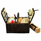 Picnic at Ascot Surrey Picnic Basket for 2 with Blanket