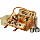 Picnic at Ascot Sussex Picnic Basket for 2 with Coffee Service
