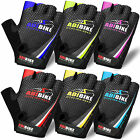 Men Cycling Gloves Bike Half Finger Bicycle Gel Padded Fingerless Sports Adibike