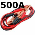 BOOSTER CABLES - CAR BATTERY JUMP START CABLE - JUMPER LEADS 200A 500A