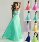 Long Evening Cocktail Ball Party Dresses Prom Gowns Wedding Bridesmaid Dresses