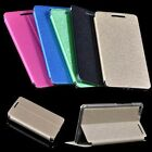 Ultra Slim Silk Leather Case Cover For 6.8'' Lenovo PHAB Plus Tab Phone + Film