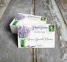 LAVENDER IN MASON JAR POSTCARD WEDDING PLACE CARDS, TAGS or ESCORT CARDS #180