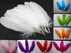 Wholesale! natural goose feather 15-20cm / 6-8inches 50/100pcs