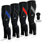 Mens Cycling Tights Winter Thermal Padded Legging Pants Cycle Long Trousers