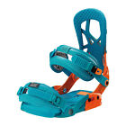 Drake Reload Snowboard Bindings in Orange & Blue Size L, XL