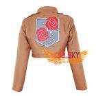 New Attack on Titan Shingeki no Kyojin Garrison Regiment Jacket Cosplay Costume