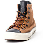 Converse Chuck Taylor All Star Hi Top Unisex Suede Tan Trainers