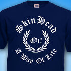 SKINHEAD  A Way Of Life Oi ! MENS T SHIRT MoD SkA SCOOTER S to 3XL T-Shirt
