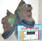 Step & Stride Dino EZ -NIB- Brown Toddler/Boys Hiking Boot •Multi Sizes• REG $36