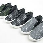 ssd08143 unique slicon pattern slip-on sneakers  Made in Korea