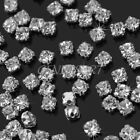 200pcs Charming Sparkle Clear Crystal Rhinestones Sew on Craft Dress Making