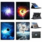 Space Exploration Folio Cover Leather Case For Apple iPad