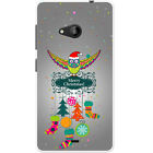 Merry Christmas Christmas Decorations Hard Case For Microsoft Lumia 535