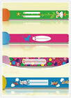 4 per pack child safety wrist band kids infoband waterproof reuseable wristband