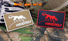 METAL GEAR SOLID PRIVATE MILITARY WEREWOLF TACTICAL ARMY AIRSOFT 3D VELCRO PATCH