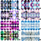 Noctilucent Full Stickers Fingernail Manicure Decals 3D Nail Art Scenic DIY Gift