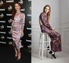 Clearance!! $775 ALICE by Temperley Long Lou Lou Dress Full Length Floral Gown