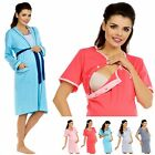 Zeta Ville Nursing Nightdress Robe Labour Hospital Gown MIX & MATCH 393c