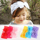 Hot Girl Kids Baby Toddler Lace Bowknot Headband Hair Band Headwear Accessories